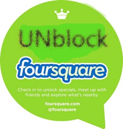 unblock Foursquare vpn for Foursquare