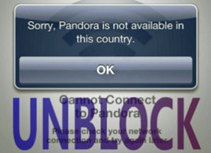 VPN to Unblock Pandora restricted