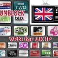 VPN for UK IP unblock UK TV