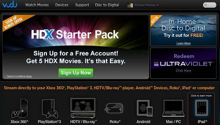 Unblock Vudu to watch HD movies outside US