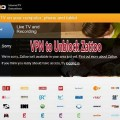 Enjoy Zattoo for Live TV with VPN – Unblock Zattoo's GEO-Restriction