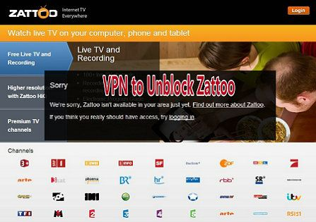 VPN to Unblock Zattoo