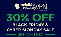 ibVPN coupon for Black Friday and Cyber Monday