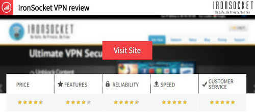 ironsocket vpn reviews